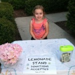 Madilyn's first lemonade stand