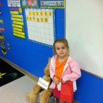 Madilyn loves school!