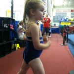 the little gymnast!